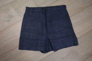 Shorts Größe S, blau Zara