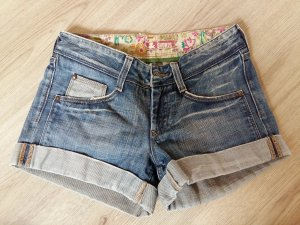 H&M Short en jean bleu-bleu clair