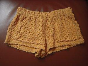Shorts Häkelspitze