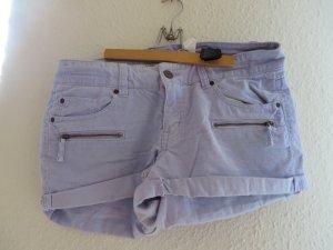 Shorts, hellblau, Cord, Gr. 40