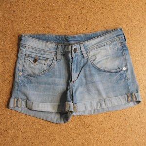 Shorts hellblau Jeans H&M