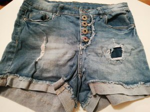 Amisu Denim Shorts light blue-blue