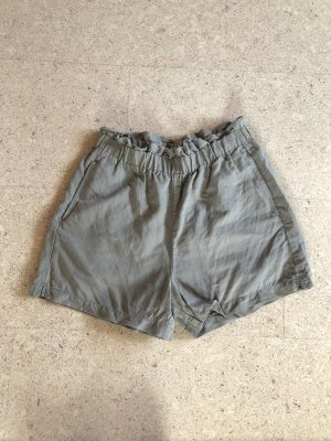 Shorts, High Waist, Leinen, H&M