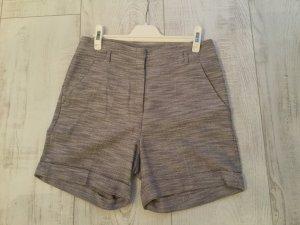 Shorts High Waist , Stoff , Gr. 36