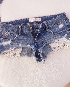 Hollister Pantaloncino di jeans blu fiordaliso