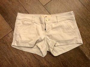 Shorts Hot Pants beige Hollister kurze Hose Sommer Frühling Hotpants