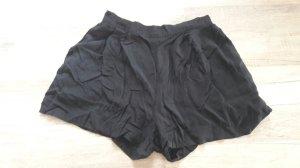 Shorts Hotpants Highwaist H&M schwarz