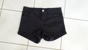 H&M Spijkershort zwart Katoen