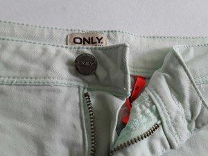 Shorts in mintgrün von Only