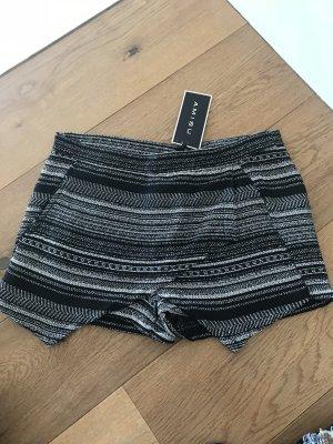Amisu Short zwart-wit