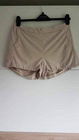 Shorts in Wildlederoptik
