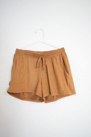 Shorts in Wildlederoptik Gr. 42