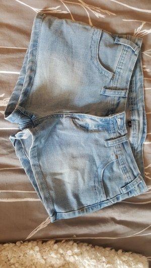 Iriedaily Denim Shorts pale blue-blue