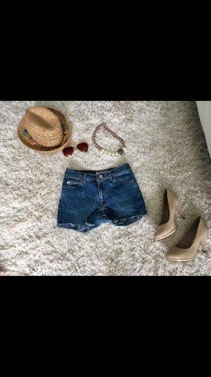 Shorts Jeans Jeansshorts Miss Sixty blau Sommer Urlaub Strand