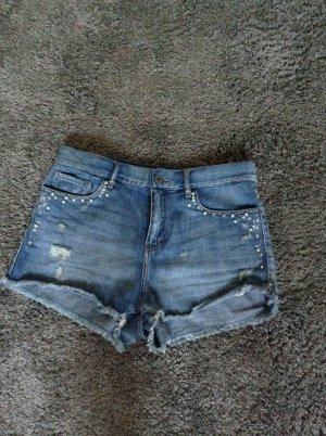 Shorts Jeans mit Strass NEU