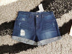 Shorts Jeansshorts kurze Hose Gr. W30 (passt 38/40) 100% Baumwolle Jacqueline de Yong