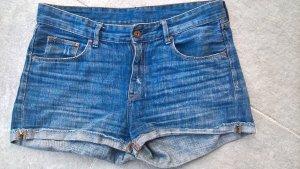 Shorts Jeansshorts Shorty Gr. 38 H&M blau dunkelblau