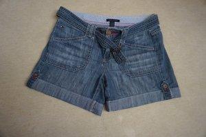 Tommy Hilfiger Pantalón corto de tela vaquera azul Algodón