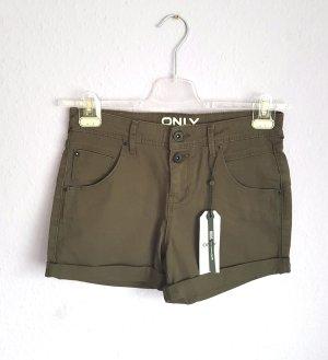 Shorts Khaki Grün Neu Only Gr. 36