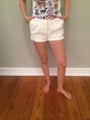 Shorts kurze Hose hotpans weiß