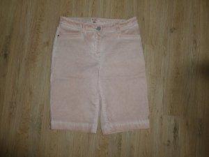 Peckott Spijkershort stoffig roze