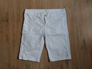 Cartoon Denim Shorts white