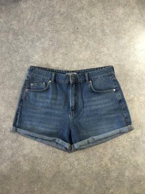 Shorts kurze Jeans Hose highwaist Bermuda