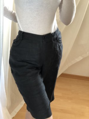 ae elegance Shorts negro Lino