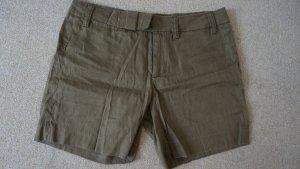 Shorts Leinen-Baumwolle Gemisch