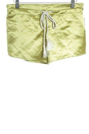 Shorts limettengelb schlichter Stil