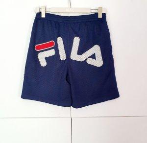 Fila Sport Shorts white-dark blue