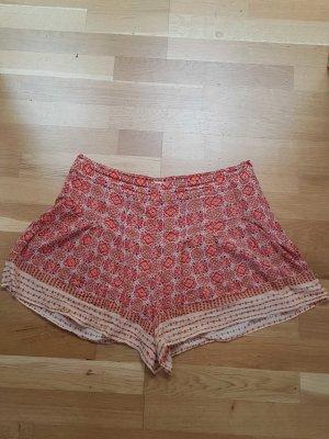 shorts M forever 21 leichter sommer stoff hoher Bund