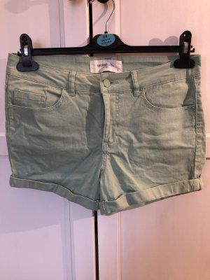 Vero Moda Hot pants lichtgroen-munt