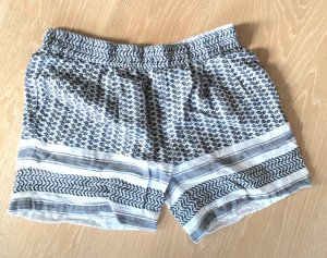 Shorts mit Eton-Muster