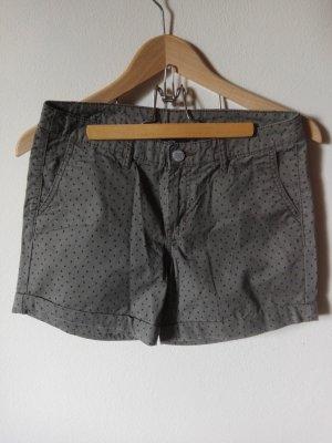 Shorts mit Muster Gr. D36 Khakigrün Neuware