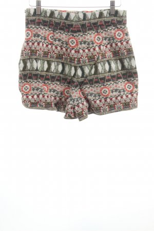 Shorts Mustermix Ethno-Look