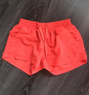 Shorts orange rot neon kurze Hose