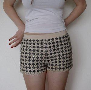 Shorts Perlen Bestickt
