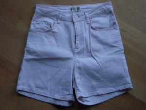 Shorts rosa High Waist