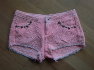 Shorts rosa mit Nieten