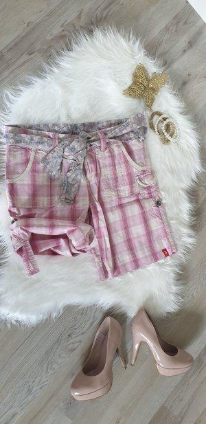 Edc Esprit Shorts color rosa dorado-crema