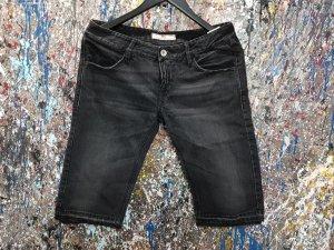 Shorts schwarz mit Swarovski Neu mit Etikett