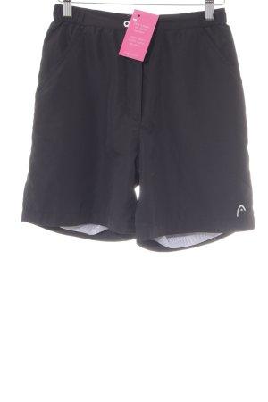 Shorts nero stile atletico
