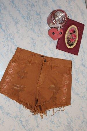 shorts short hot pants mit fransen von Hollister gr. w25 32 34 xs
