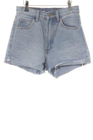 Shorts stahlblau Casual-Look