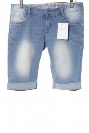 Shorts stahlblau Street-Fashion-Look