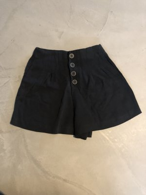 TRF High-Waist-Shorts black