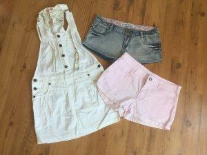 Shorts und Minirock