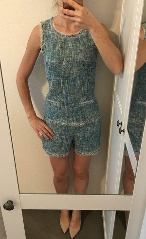 Shorts und Oberteil von Hallhuber Twinset Gr. 34 Chanel-Style super schick, top Zustand! Bouclé
