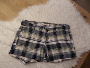 Shorts von Abercrombie & Fitch *** blau/weiß kariert *** US 2 ***